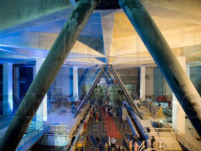 Kathedraal Noord-Zuidlijn in aanbouw