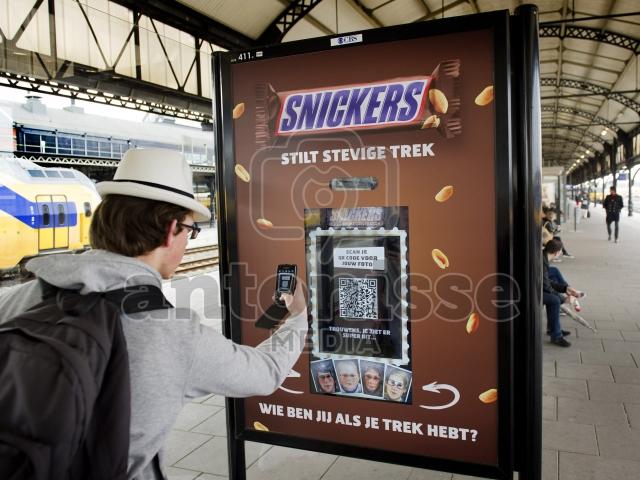 Interactieve reclamecampagne Snickers
