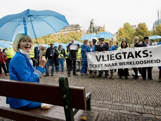 PROTEST VLIEGTAKS